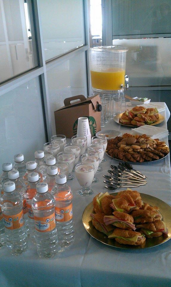 Coffee Break para corporativo. Buen Provecho! Octubre 2013