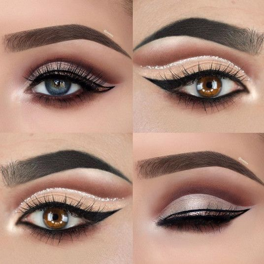 Glitter Queen - Cut Crease Eyeshadow Techniques That Are All Kinds of Chic - Photos