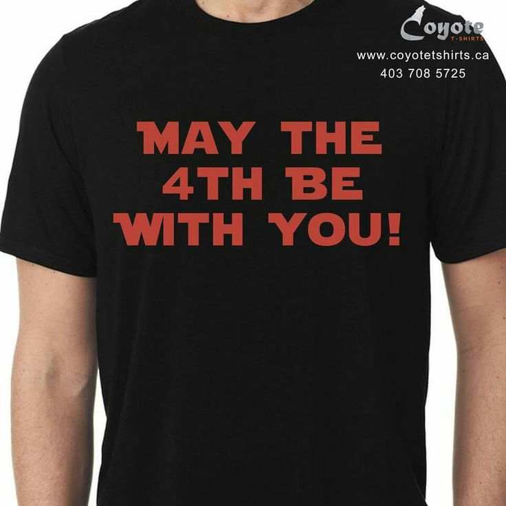 May the 4th Be With You! www.coyotetshirts.ca 403.708.5725 No minimum, no setup fee, small order friendly, personal customization guaranteed, 24 to 48 hour turnaround, at 5534 1A ST SW Calgary. #Calgary #Alberta #Coyotetshirts #CustomTshirts #CustomTees #CalgaryAlberta #starWars