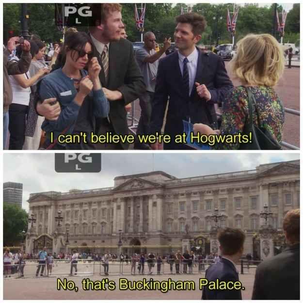 You're a HUGE Harry Potter fan.