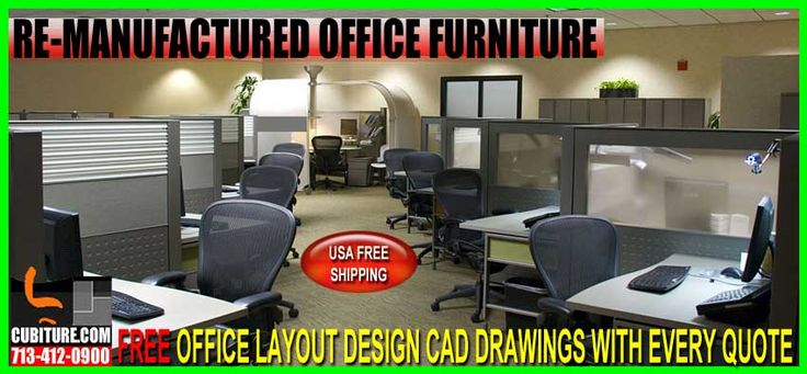Re-manufactured Office Furniture For Sale