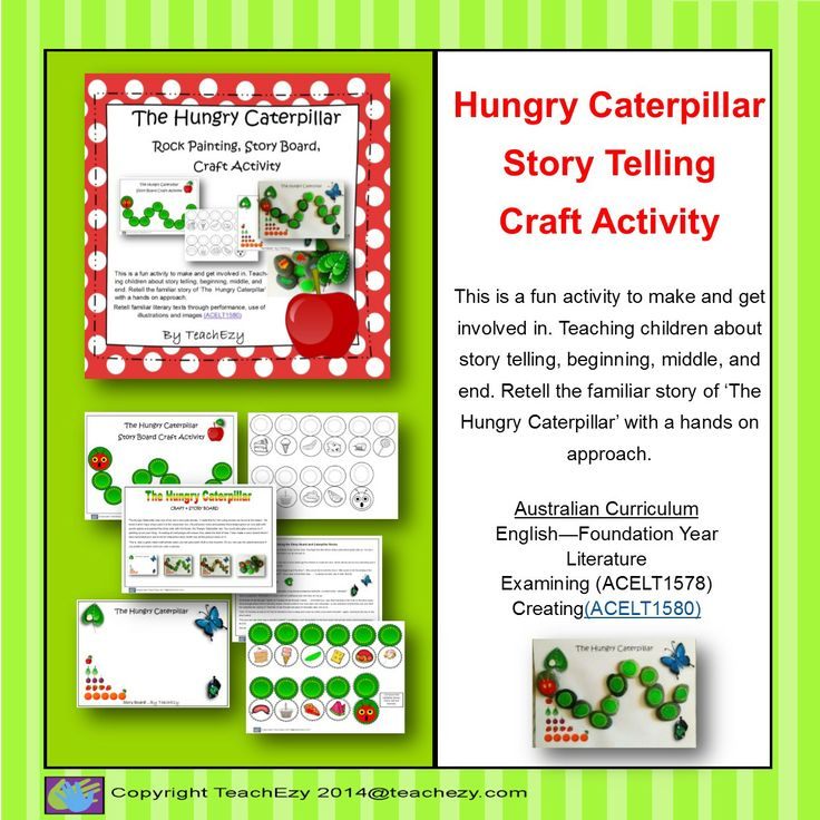 Hungry Caterpillar fun activities for your child.