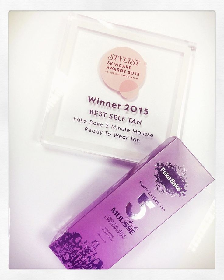 Stylist Skincare Awards 2015 Best Self Tan 5 Minute Mousse