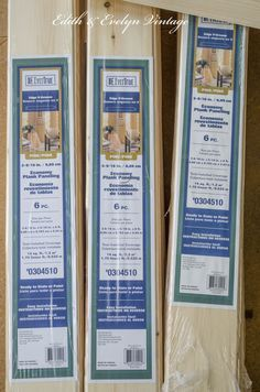 How to plank a popcorn ceiling with lightweight tongue and groove wood planks. Here is a breakdown of what this project cost:  23 pkgs. of planks (14 sq ft in ea pkg) @ $10.97 per pkg:  $252.31  12 tubes of Liquid Nails @ $3.47 ea:  $41.64  Total cost: $293.95 {approximately .92 cents a sq. ft.!}