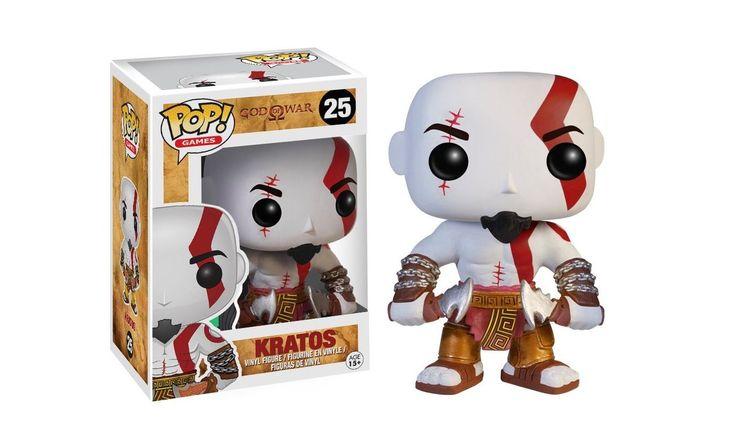 Kratos! Bohater gry God of War jeszcze chyba nigdy nie wyglądał tak uroczo, a ostrza Chaosu nigdy nie wyglądały tak niewinnie. #GodofWar #Funko