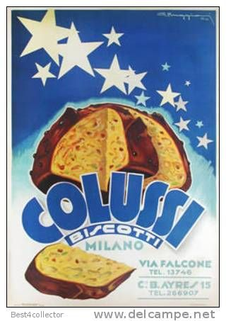 @@@ MAGNET - Colussi Biscotti, 1933