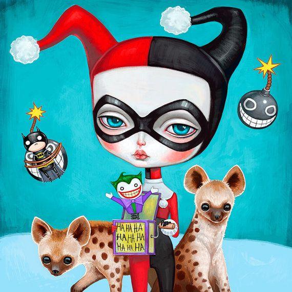 Harley Quinn by Melanie Schultz