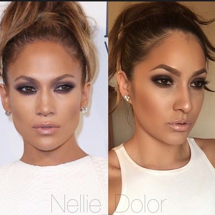 """JLo inspiration @nellie_dolor great job! I want to see more celebrity inspired looks! Working on getting another giant server added you guys to fix…"""