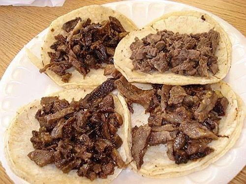 Tacos de carne asada, Mexico