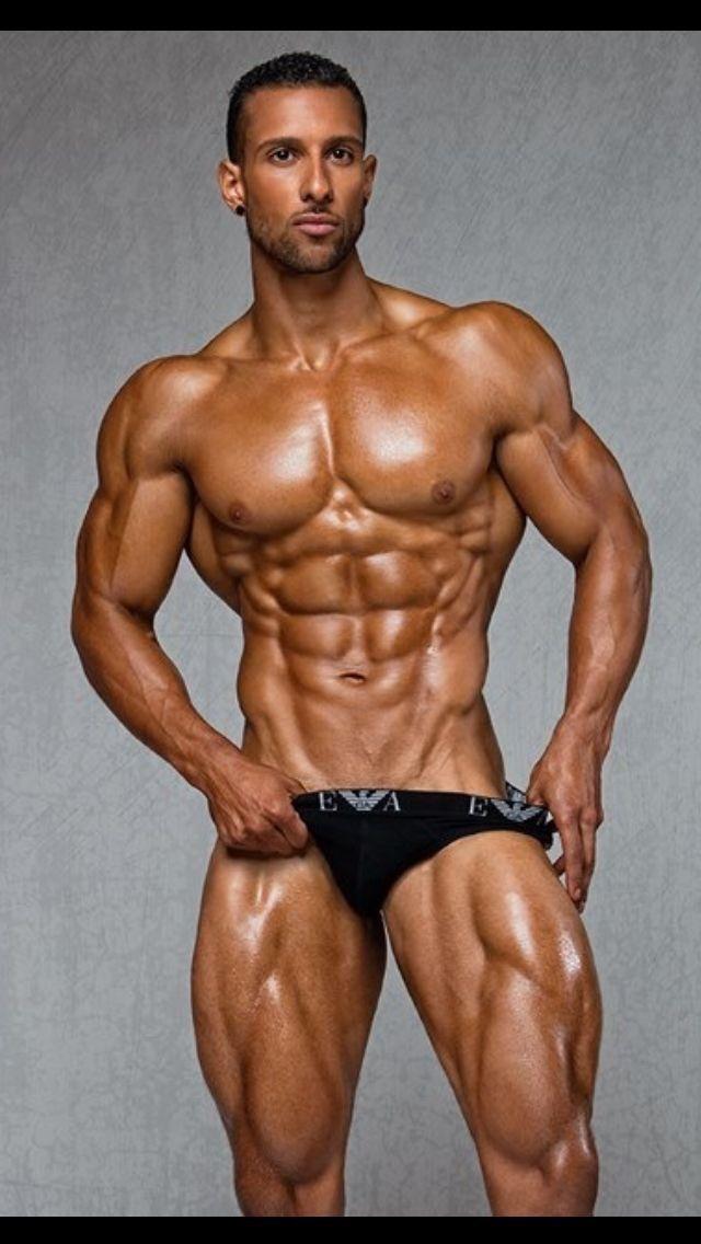 Hung muscle men