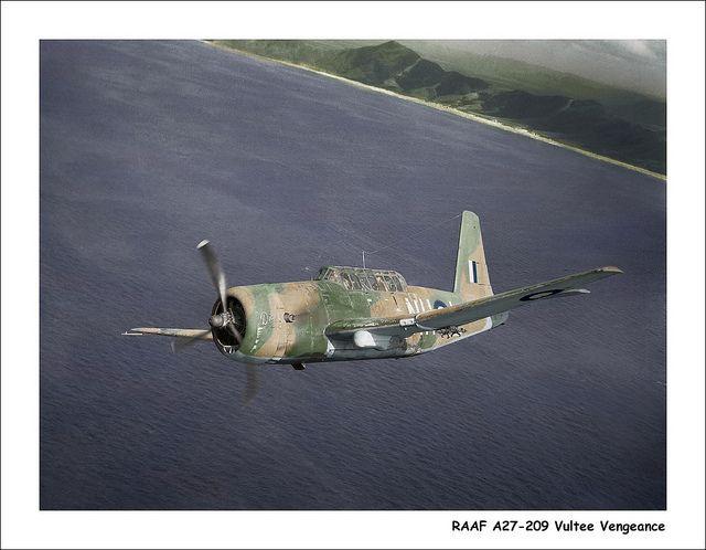 RAAF A27-209 Vultee Vengeance
