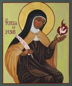 Association Of Catholic Women Bloggers: Saint Teresa of Ávila's Legacy