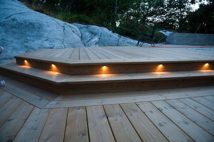 Belysning altan