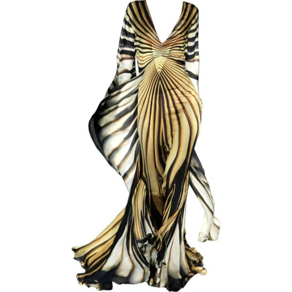 edited by Satinee - Haute couture collection ❤ liked on Polyvore featuring dresses, gowns, long dresses, animal print, couture dresses, animal print gown, couture evening gowns and animal print evening dress