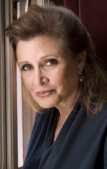 Carrie Frances Fisher (October 21, 1956 – December 27, 2016) was an American actress, mental health advocate, writer and humorist.