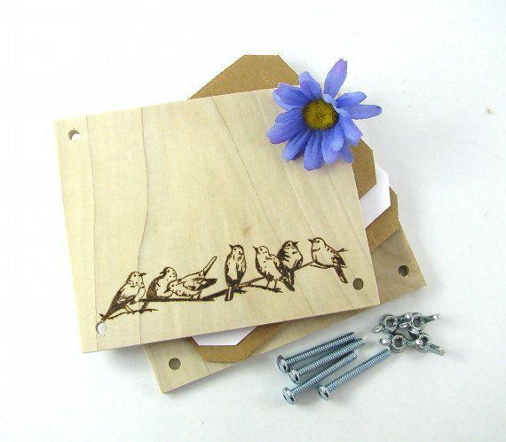 Flower Press  Wood Pyrography  Birds Plant Press by bkinspired #flowerpress #pyrography #summer