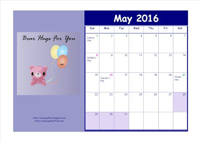 Malaysia June School Holidays Dates And Free May Calendar 2016 ~ Parenting Times
