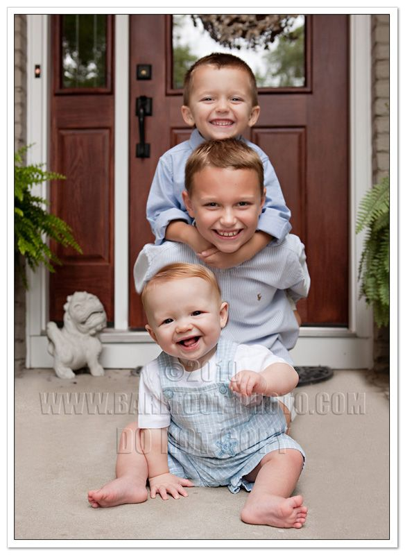 would still be adorable for two brothers and a sister
