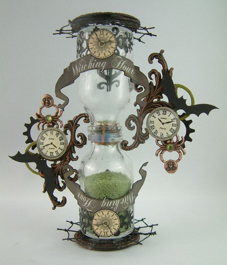 """I had such great feedback on my """"Witching Hour"""" hourglass (pictured below) a few months ago that I thought I would create a couple mo..."""