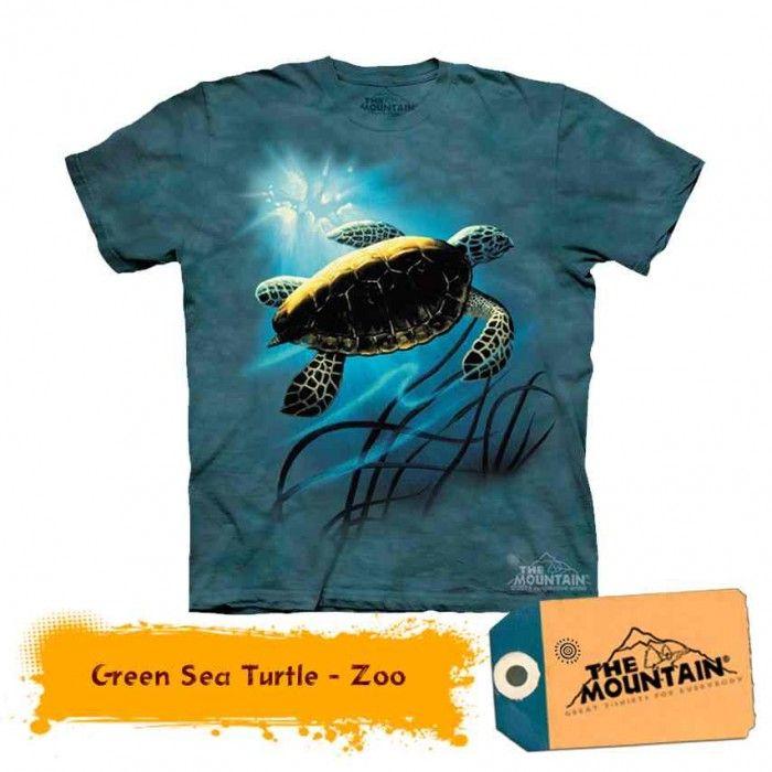Tricouri The Mountain – Tricou Green Sea Turtle