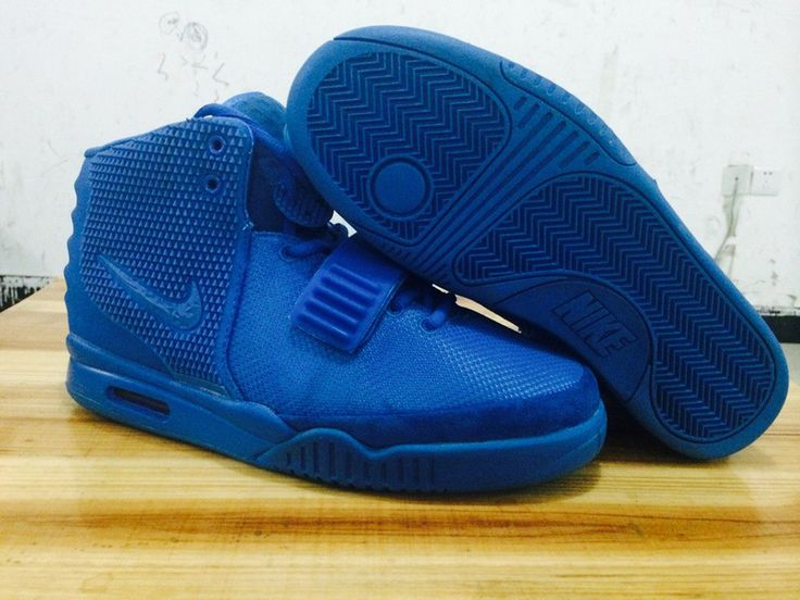 Cheap Hot Sale Nike Yeezy 2 Cheap sale Blue Black Solar Red