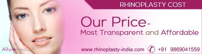 Get Transparent and Affordable Rhinoplasty, Nose reshaping, Nose job Surgery Cost/ Price at Rhinoplasty-india.com, Andheri, Mumbai, India