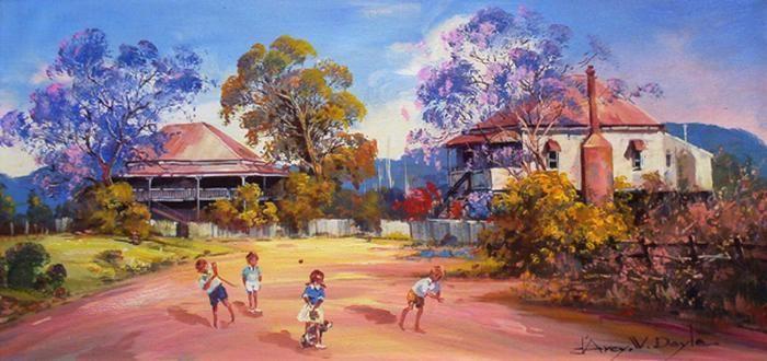 Queensland artist D'Arcy W. Doyle