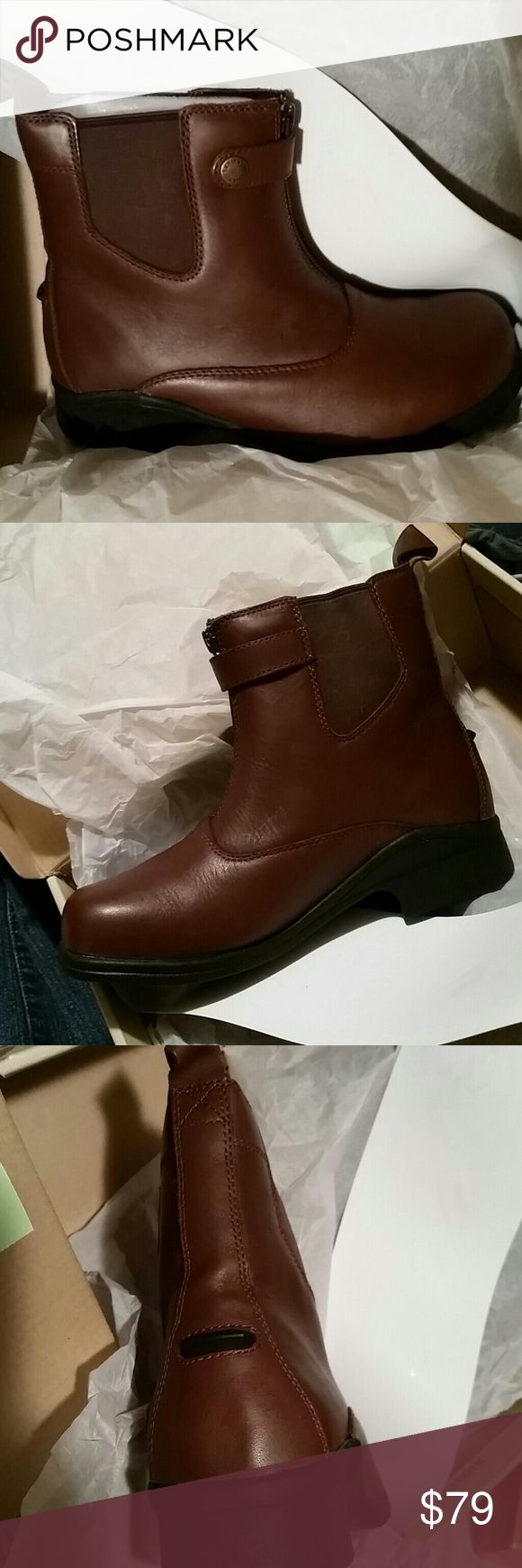 NIB Sanita Boots size 6.5 New in box Brown Sanita boots front zip they come a few inches above the ankle size 6.5 Sanita Shoes