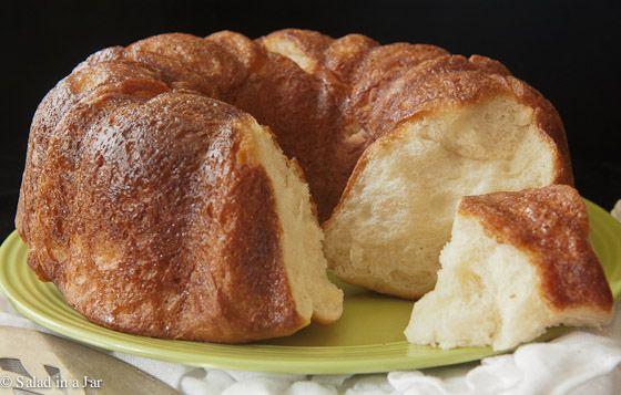Helen Corbitt's Monkey Bread (bread machine)