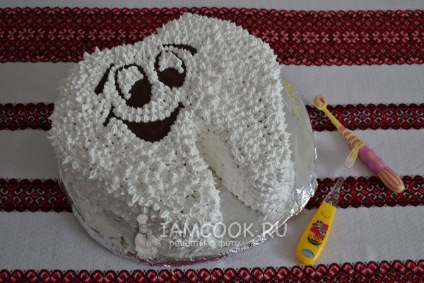 Торт «Зубик»