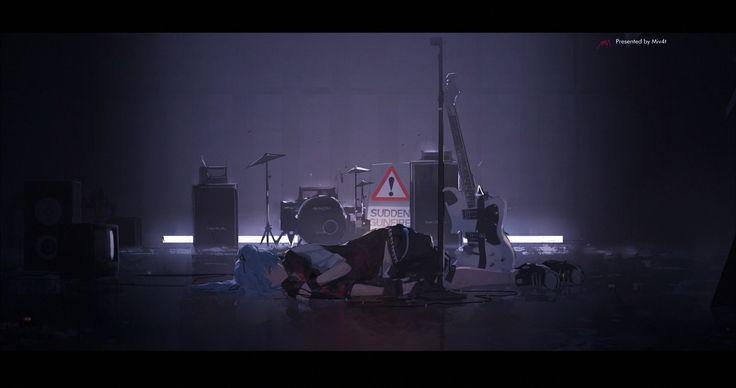 ArtStation - PHANTOM ECHOES (HATSUNE MIKU EXPO 2016), M4 +