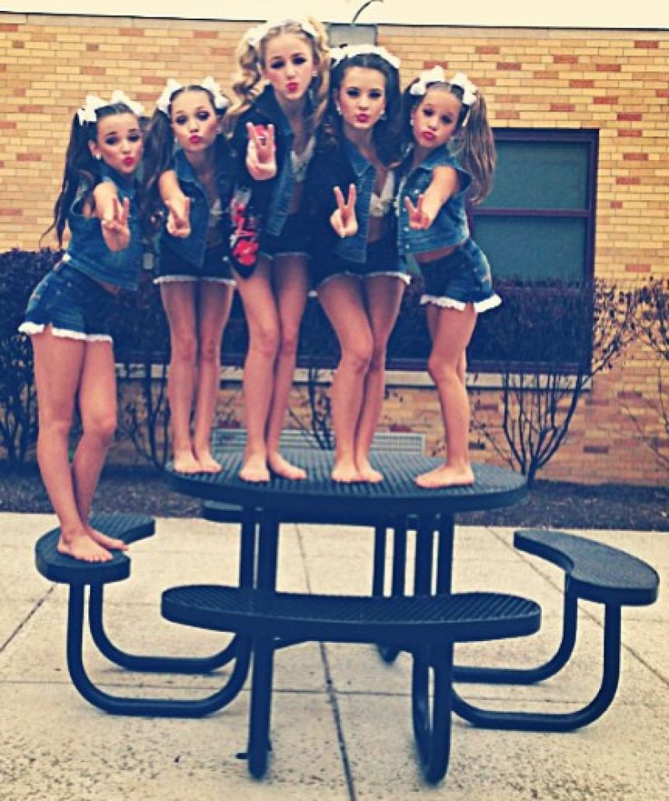 Kendall, Maddie, Chloe, Brooke and Kenzie