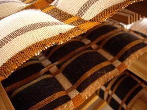 お昼寝マット・バージョン2 : スウェーデン織のアトリエから