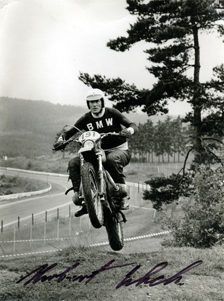 When men were men -- they jumped BMW's.