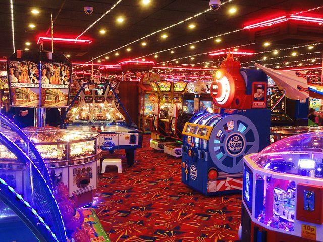 Hunstanton Arcade, UK
