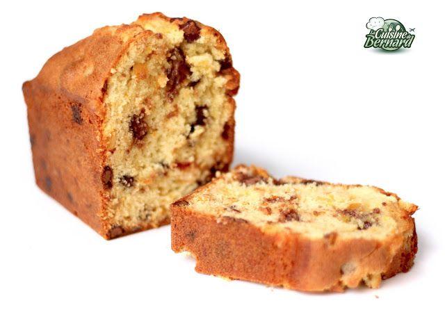La Cuisine de Bernard : Le Cake à l'Orange et au Chocolat