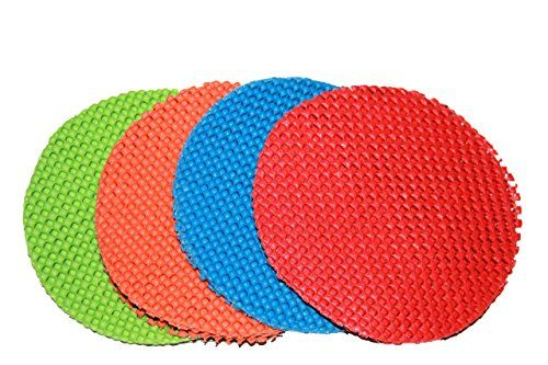 4 Pack Round MultiPurpose Jar Gripper Pad Bottle Lid Opener Colors May Vary -- More info could be found at the image url.