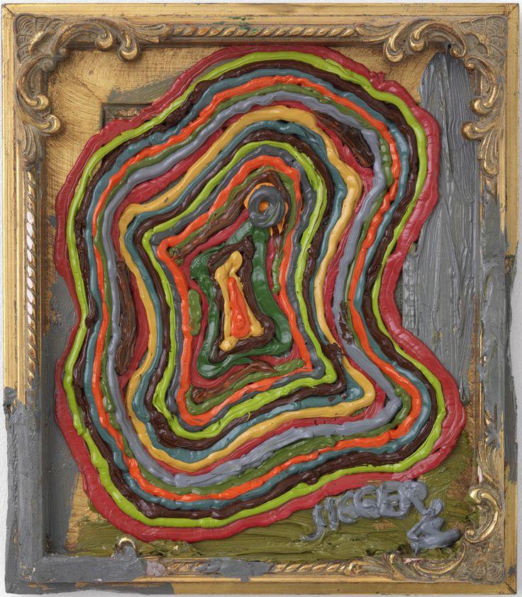 Jigger Cruz, to be confirmed, 2014, Oil on canvas on wood, 40 × 35 cm, CRUZ0024