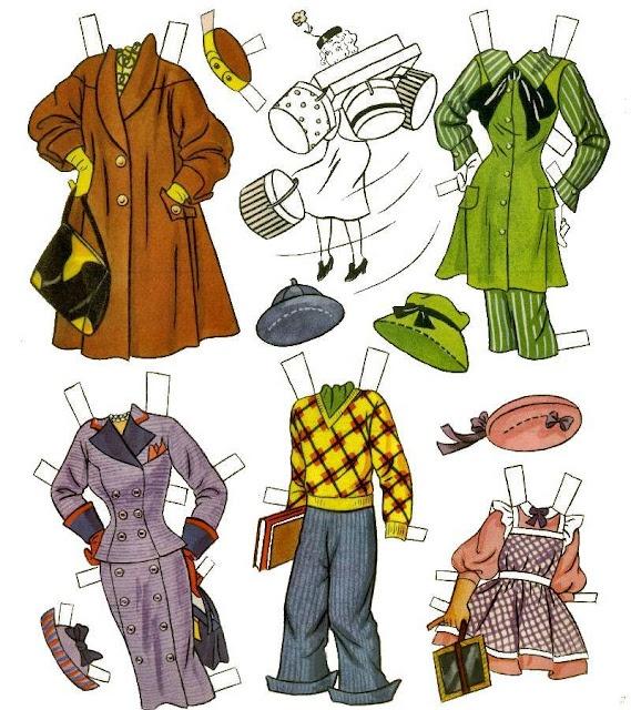 Famoso 231 best Crafts, paper dolls images on Pinterest | Vintage paper  UX62