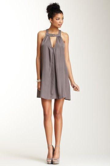 Box Pleated Short Dress on HauteLook