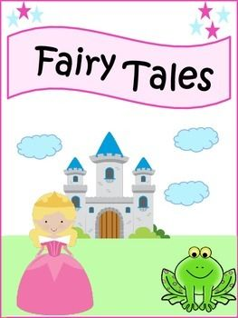 This 18 page packet includes: Fairy Tale Vocabulary, Fairy Tale Story Elements Graphic Organizer, Features of a Fairy Tale, Villain Graphic Organizer, Hero Graphic Organizer, Let's find Fairy Tale activity sheet, Common Themes, Emotions Expressed in Fairy Tales, List of Popular Fairy Tales, 3 Wishes, Villain Characteristic Chart, How To Draw A Castle Fun activity, and Setting of a Fairy Tale.