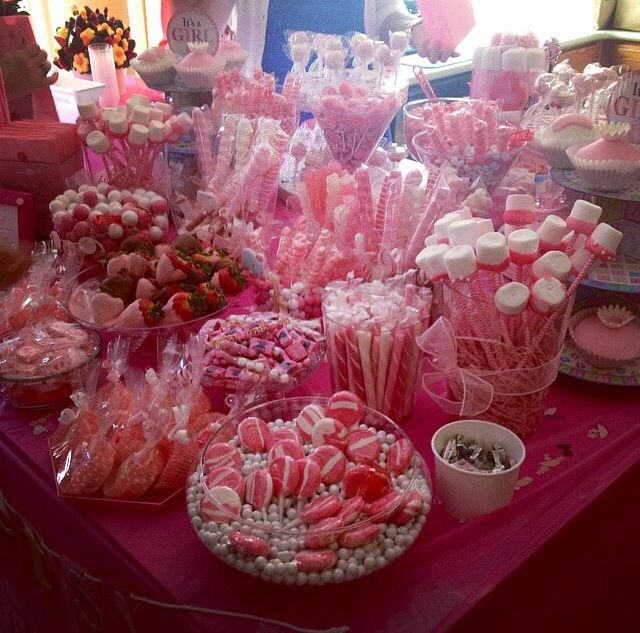 Candy Table. Baby Shower