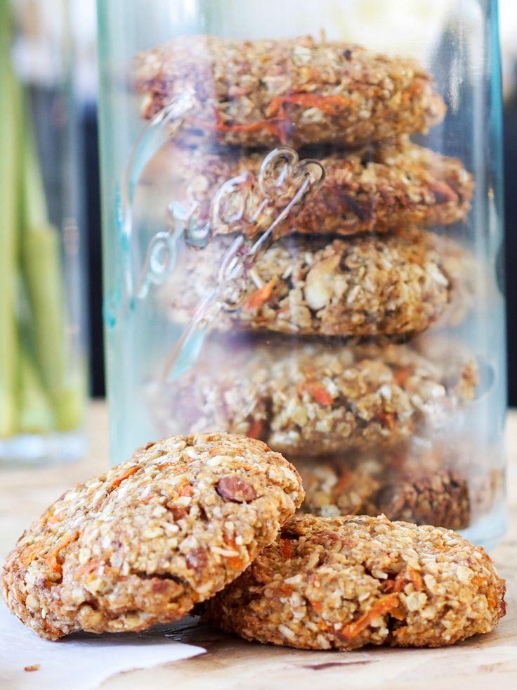Frokost cookies med smak av gulrotkake (Fitfocuse)