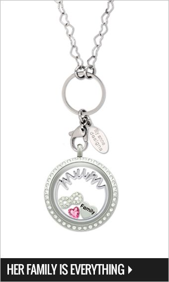 Large silver locket with crystals, Silver heart chain 75cm, heart shaped October birthstone, Family silver heart, & Silver infinity w' crystals Charms, Large silver mum plate $94-