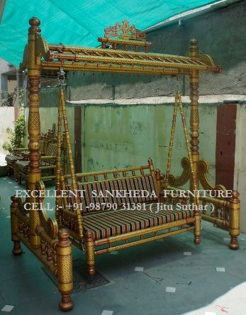 """I am  """"Manufacturers & exporters """"sankheda Wooden Swing """" , If you are interest ,pla mail me.  Jitu (sankheda/india)"""