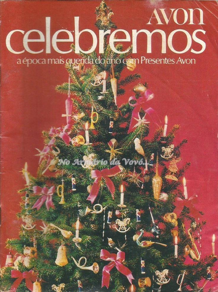 No armário da Vovó...: Catálogo Avon - Campanha 17/1980