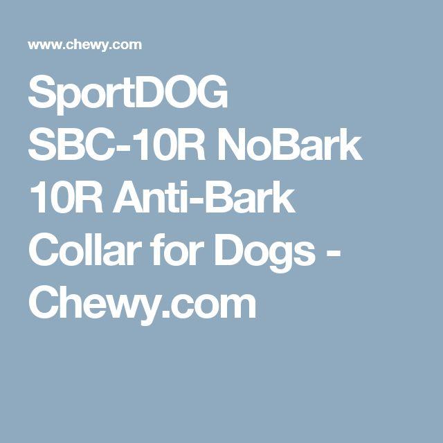SportDOG SBC-10R NoBark 10R Anti-Bark Collar for Dogs - Chewy.com