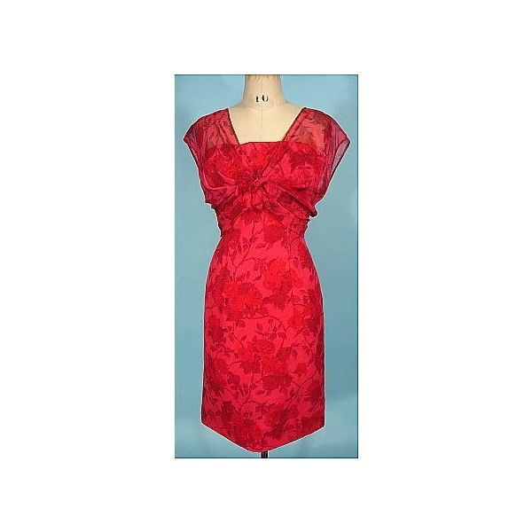 FINDERSKEEPERS: Antique Dress - Item for Sale ❤ liked on Polyvore featuring dresses, finders keepers dress, red dress and antique dress