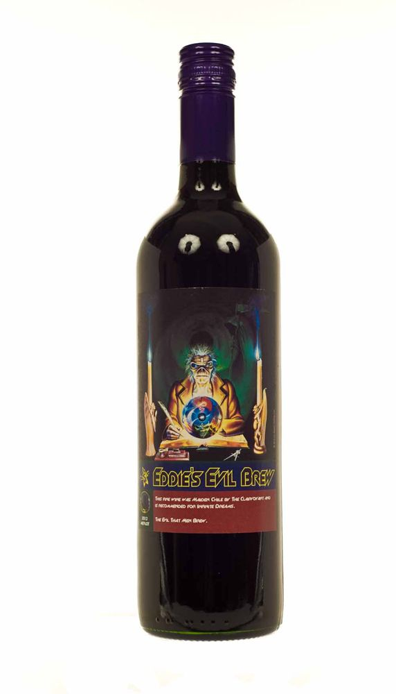 Iron Maiden wine - 7th Son Evil Brew
