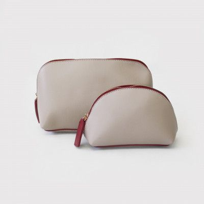 Redcurrent Grey Classic Cosmetic Case, priced from $28.00.